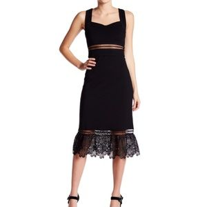 Romeo and Juliet Couture sweetheart lace dress